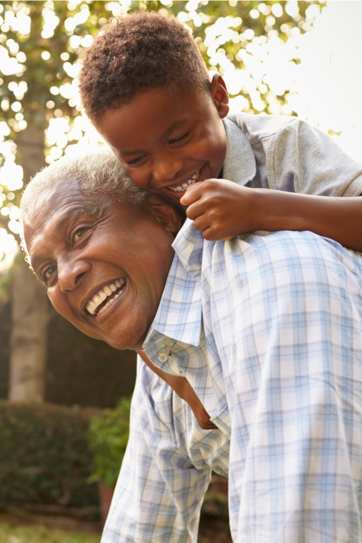 Things that Grandparents and Kids Can Do Together - Kids Activities Blog - child and grandparent playing together